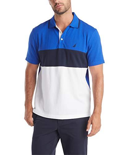 Nautica Men's Short Sleeve 100% Cotton Pique