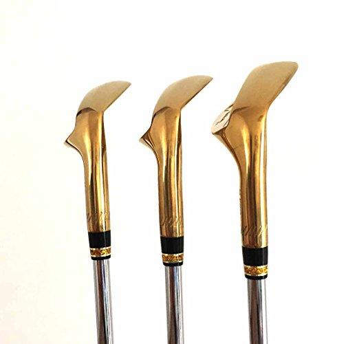 Japan Wazaki 14K Gold M PRO Forged Soft Iron USGA R A rules of Golf Club Wedge Set(pack of three) by wazaki (Image #4)