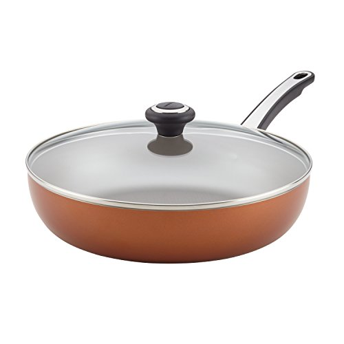 Farberware High Performance Nonstick 12-Inch Skillet, Copper