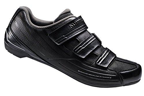 Shimano 2017 Men's Sport Touring Road Cycling Shoes SH-RP2 42 M EU / 8.3 D(M) US (Black/Black)