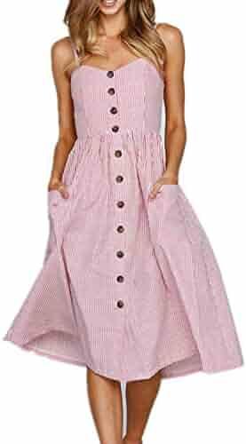 Highisa Women Pure Color Plus-Size Long-Sleeve Empire Waist Dresses Grey XL