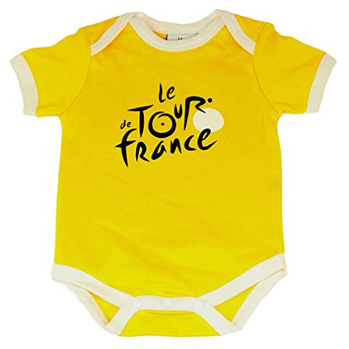 Le Tour de France - Official Tour de France 'Yellow Jersey' Baby Bodysuit - Size : 3 months - Color : Yellow
