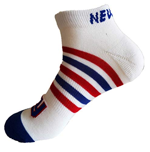 holly joll New York Giants Sports Cozy Short Socks Comfortable Stockings Refreshing and Breathable Good Material Elasticity Spring Summer