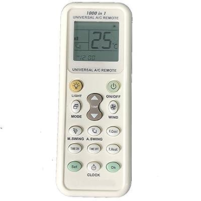 CLOB Compatible Remote Control for Air Conditioner, LG-6711A20028E.