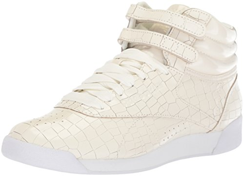 High Baseball Chalk Schnuersenkel White Frauen Crackle Tops Reebok Schuhe 7WZSagq