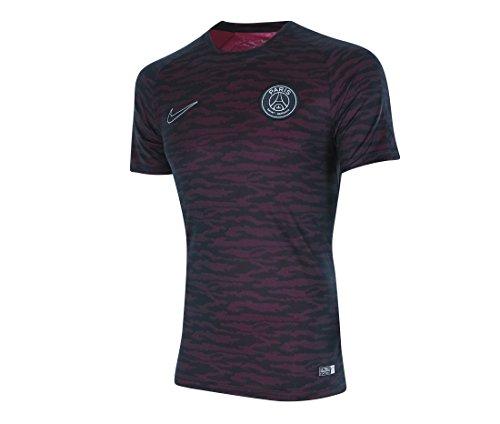 Longues T shirt À Contour Femme Manches fit Nike Pink Dri qW1p18