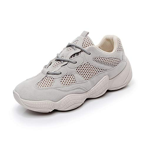 Mujer Sintético LFEU Zapatillas de Gris de Running xqXZqz