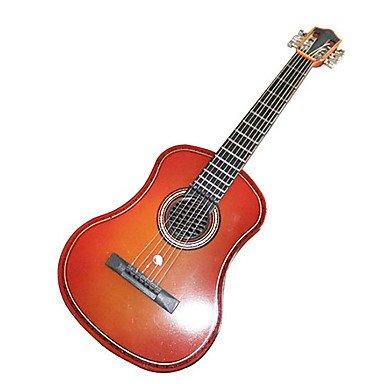 CECT STOCK Mini portátil de la guitarra eléctrica de juguete con Soporte (Funciona con 2 baterías AA no incluidas): Amazon.es: Juguetes y juegos