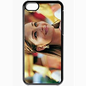 Personalized iPhone 5C Cell phone Case/Cover Skin Aishwarya Rai Actress Squaw Girl Star Black