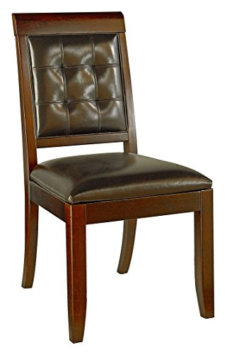 Hammary Upholstered Leather Side Chair