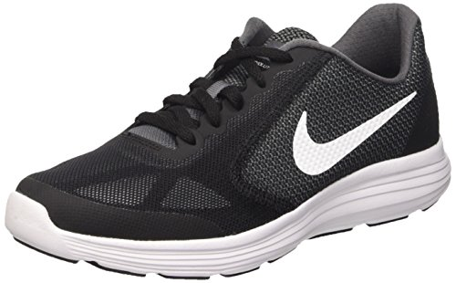 Revolution GS Platinum garçon White black de Gris Running Gris Dark Chaussures NIKE 3 pure Grey dExqda