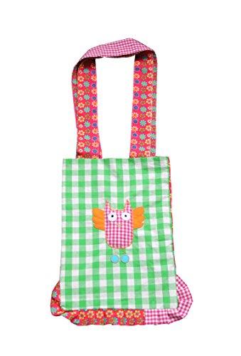Süße Stofftasche ~ Eule ~ Einkaufstasche Stoffbeutel Tasche Beutel aus Stoff