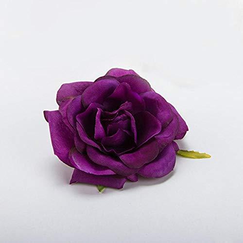 Aosreng Mini PE Foam Roses Multi-Use Artificial Flower Heads Handmade DIY Wreath Wedding Decoration Home Garden Supplies Gold from Aosreng