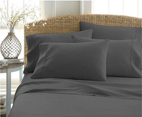 - Authentic Heavy Quality Super Soft Bed Sheets 1200-Thread-Count Egyptian Cotton 4-Pieces Sheet Set Fits 10-11