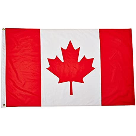 Valley Forge Canada Outdoor Nylon Flag 3 By 5 Feet