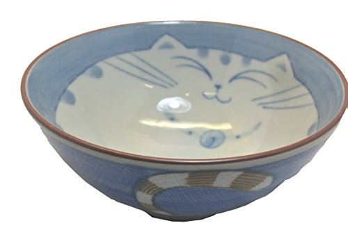 (JapanBargain 2473 Rice Bowl, 4.5-inch, Blue)