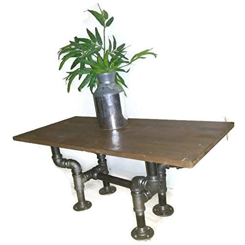 Industrial Pipe Coffee Table, Rustic Industrial Furniture, Steampunk Table