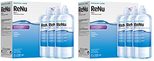 Bausch&Lomb ReNu MPS Multi- Purpose Contact Lens Solution for Sensitive...