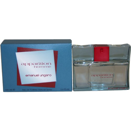 (Apparition Homme Men Eau-de-toilette Spray by Emanuel Ungaro, 3.4 Ounce)