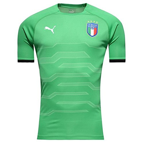 PUMA Men's FIGC Italia Goalkeeper Shirt Replica, bight Green, M