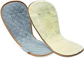 BUGABOO/ /Matratzenauflage aus Wolle grau
