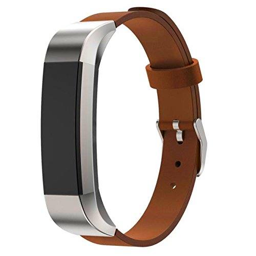 Harness Leather Frontier - 2019 Great Best Gift !!! Cathy Clara Replacement Accessories Bands Luxury Genuine Leather Band Strap Bracelet for Fitbit Alta Tracker Women Men Boys Girls