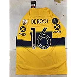 Peak DE Rossi#16 BOCA Juniors Away Soccer Jersey 2019-2020