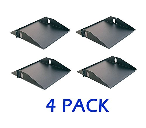 RackSonic 2U Center Weight 19'' SHELF Rack or Cabinet Mount Gruber (4 PACK) by Racksonic