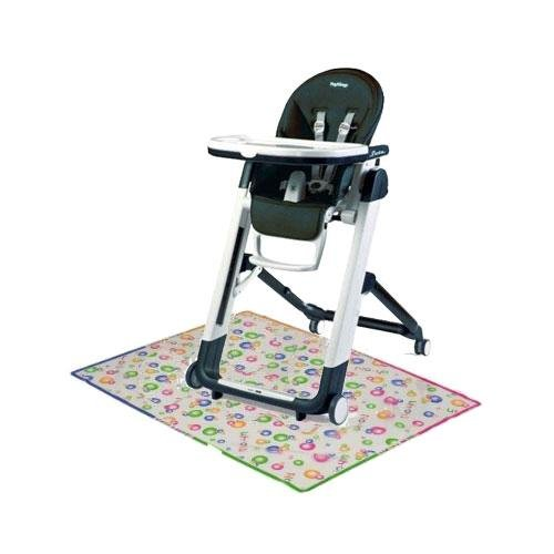 Peg Perego Siesta High Chair with Splat Matt - Licorice by Peg Perego