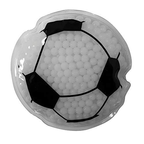 Sport Gel Bead Hot/Cold Pack - Reusable - Non-Toxic, Soccer, Set of 6 (Ball Gel Soccer)