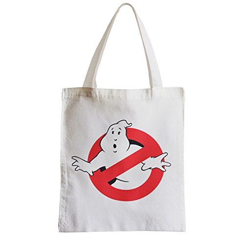 Canvas No Allowed Tot Logo Bag Student Big Ghost Beach Ghostbusters Shopper Avd6gccfyq