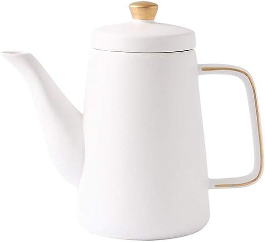 mqlerry Tetera De Cerámica Hervidor De Cerámicatetera Cup Set Tea ...