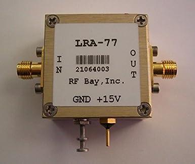 5-600MHz Hi-Rel RF Amplifier 15V, LRA-77, New, SMA: Amazon