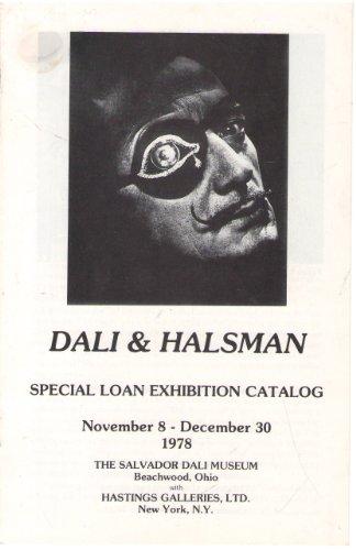 (Dali & Halsman: Special loan exhibition catalog, November 8 - December 30, 1978)