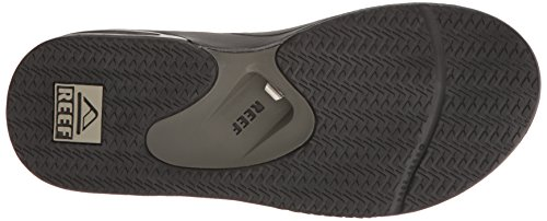 Men's Pinstripes Reef Prints Grey Fanning Sandal 17FxqT