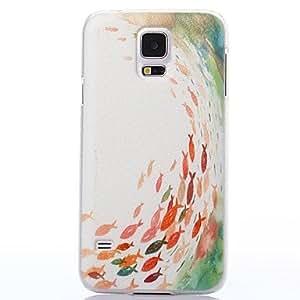 YULIN Teléfono Móvil Samsung - Cobertor Posterior - Gráfico - para Samsung S5 i9600 ( Multi-color , Plástico )