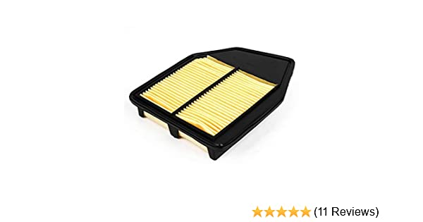 Crosstour CA10467 Replacement for Honda L4 Engine Extra Guard Rigid Panel Engine Air Filter for L4 Accord EPAuto GP467 2013-2015 2008-2012