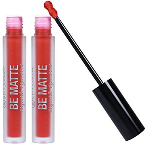 City Color- Be Matte Liquid Lipstick (pack of 2) (Talk to the Hand)