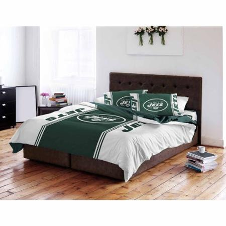 NFL Anthem Twin/Full Bedding Comforter Only, New York Jets ()