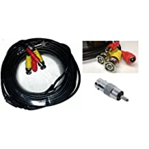 Acelevel Premium Quality 100 Feet Video and Power Cable for Lorex CCTV Security Cameras