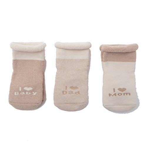 【3 Pairs】baby socks [High-end Soft