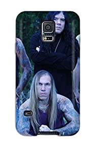 New Premium Flip Case Cover Seven Witches Skin Case For Galaxy S5
