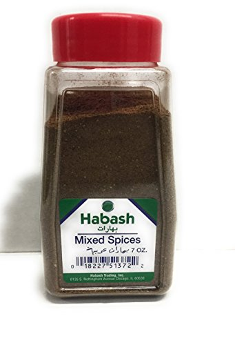 - Habash Mixed Spices 7 Oz (200 gram) Powdered Jar Mediterranean Arabic Seven Spice Seasoning Triple Trader Exclusive