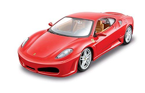 Maisto 39259 - Modellauto 1:24 Bausatz Ferrari F430, rot