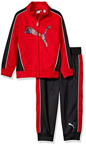 - PUMA Toddler Boys' Track Set, Fierce Red, 2T