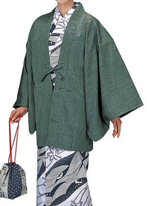 踊り衣裳 茶羽織 温印 ピンク 浴衣 羽織 レディース