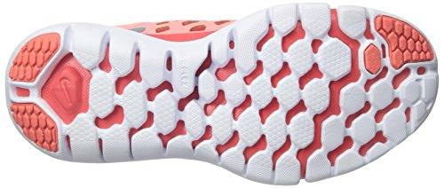 Nike Wmns Flex 2015 Rn, Zapatillas de Running para Mujer Naranja (Lv Glw / Mtllc Slvr-Brght Crmsn)