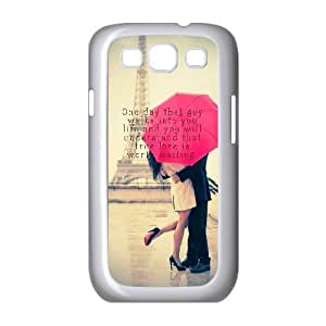 Samsung Galaxy S3 9300 Cell Phone Case White quotes true love one day guy SLI_514495