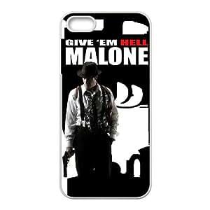 ¡Déles el infierno, alta resolución Malone Cartel iPhone 4 4S caja del teléfono celular funda blanca del teléfono celular Funda Cubierta EEECBCAAJ74210