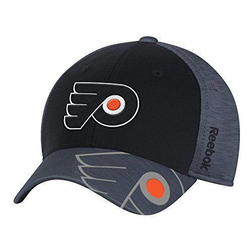 Reebok NHL Philadelphia Flyers Men's Playoff Team Cap, Black,Large/X-Large